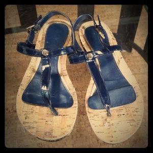 Ralph Lauren Patent Leather Sandals